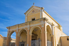 Sanctuary of St. Maria del Canneto. Gallipoli. Puglia. Italy. Royalty Free Stock Image