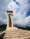 Sanctuary and temple of Apollo Royalty Free Stock Images