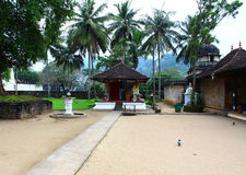 The sanctuary in the temple of tooth relic, Kandy Stock Photography