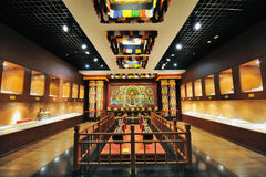Sanctuary of Tibetan Buddhism Royalty Free Stock Photography