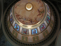 Sanctuary of Tindari: inside dome Royalty Free Stock Image