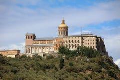 Sanctuary of Tindari. The Sanctuary of Tindari in Sicily. Italy Royalty Free Stock Photo