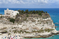 Sanctuary of Tropea Stock Images
