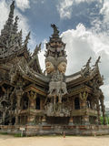 Sanctuary of truth carving Royalty Free Stock Image