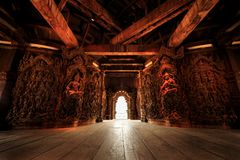 Sanctuary of truth Pataya in Thailand. Sanctuary of truth Pataya, Thailand Stock Photos