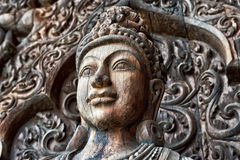 Sanctuary of Truth, Pattaya Stock Photography