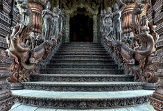 Sanctuary of Truth, Pattaya Stock Photo