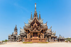 Sanctuary of Truth in Pattaya, Thailand Royalty Free Stock Photos