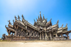 Sanctuary of Truth in Pattaya, Thailand Stock Image