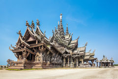 Sanctuary of Truth in Pattaya, Thailand Stock Photography