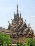 The Sanctuary of Truth, Pattaya Stock Images