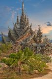 Sanctuary of Truth, Pattaya, Thailand. Stock Photography