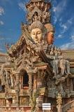 Sanctuary of Truth, Pattaya, Thailand. Stock Image
