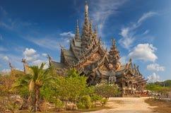 Sanctuary of Truth, Pattaya, Thailand. Stock Photos