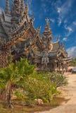 Sanctuary of Truth, Pattaya, Thailand. Stock Photography