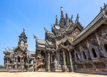 Sanctuary of Truth in Pattaya, Thailand Stock Photo