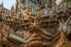Sanctuary of Truth Royalty Free Stock Images