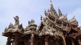Sanctuary of Truth stock footage
