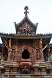 The Sanctuary of Truth Thailand. Temple of Truth in Thailand, built without a single nail Royalty Free Stock Photos