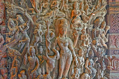 Sanctuary of Truth wooden sculpture Royalty Free Stock Images