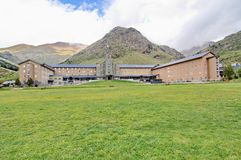 Sanctuary at Vall de Nuria Royalty Free Stock Image