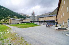 Sanctuary at Vall de Nuria Royalty Free Stock Photography