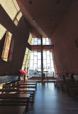 A Sanctuary View of the Chapel of the Holy Cross Royalty Free Stock Images