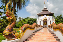 Sanctuary wat Thailand. In Chiang mai , Thailand Royalty Free Stock Photo
