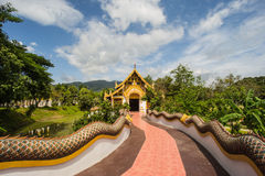 Sanctuary wat Thailand Stock Photo