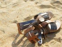 Sandálias Foto de Stock