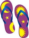 Sandálias Imagem de Stock Royalty Free