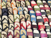 Sandálias imagem de stock