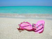 Sandálias da praia Imagens de Stock Royalty Free