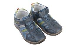 Sandálias das crianças. foto de stock royalty free