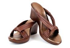 Sandálias das mulheres Imagem de Stock Royalty Free