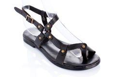 Sandálias de couro Foto de Stock
