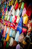 Sandálias de Morrocan Fotografia de Stock Royalty Free