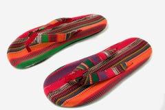 Sandálias do verão foto de stock
