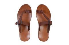 Sandálias do verão Foto de Stock Royalty Free