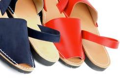 Sandálias do verão Imagens de Stock Royalty Free