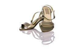 Sandálias femininos Fotografia de Stock Royalty Free