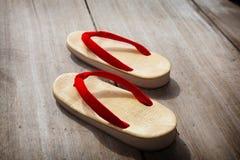 Sandálias japonesas Fotografia de Stock Royalty Free