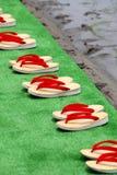 Sandálias japonesas tradicionais Foto de Stock Royalty Free