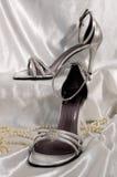 Sandálias nupciais Imagem de Stock