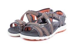 Sandálias ocasionais 1 do ` s das mulheres Fotos de Stock