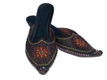 Sandálias orientais imagem de stock royalty free