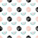 Sandía Berry Seamless Pattern Imagen de archivo