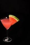 Sandía martini Imágenes de archivo libres de regalías