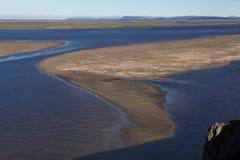 Sandö i Lena Delta Arkivbilder