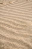 Sand. Wave pattern in the sand Royalty Free Stock Image